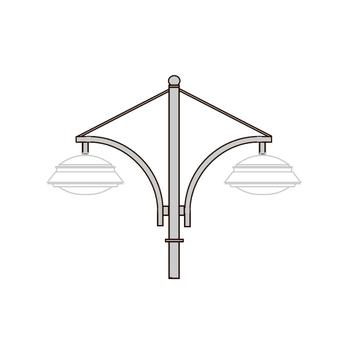 Кронштейн для установки подвесных светильников