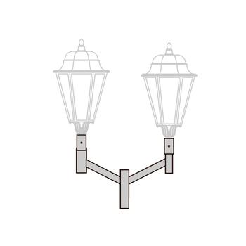 Кронштейн для установки торшерных светильников