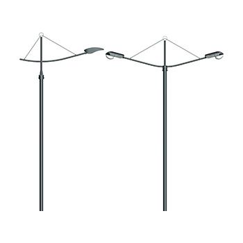 Кронштейн Ладья (серия 4) для консольных светильников