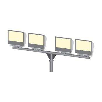 Кронштейн Т-образный (серия 14) для прожекторных светильников